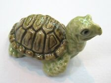 Porcelain Miniature Collectible Ceramic Mini Turtle Figurine Animal Aquarium