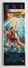 Romancing the Stone FRIDGE MAGNET (1.5 x 4.5 inches) insert movie poster