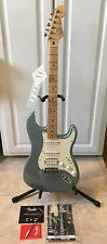2003 Fender Standard Stratocaster HSS Electric Guitar MIM Arctic Blue EXCELLENT!