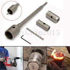 30 40 50mm SDS Plus Carbide Tip Hole Saw Drill Bit Shaft For Wall Masonry Stone