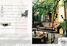 Publicité advertising 1999 (2 pages) Mobilier Canapé cuir Roche Bobois