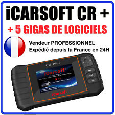 iCARSOFT CR+ Valise Diagnostic COM MULTIMARQUES PRO - OUTIL DIAG AUTO SCAN OBD2