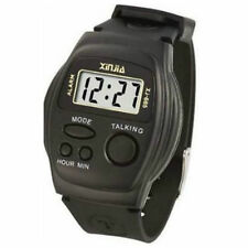 Talking Watch for Kids and Blind Xinjia 665E Black