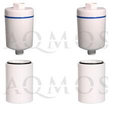 2 Duschfilter + 2 Wechselfilter Filter Kalkfilter Dusche Bad Hautpflege Chlor