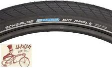 "SCHWALBE BIG APPLE REFLECTIVE SIDEWALL 29"" X 2.0"" BLACK WIRE BEAD TIRE"