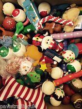 5 ASSORTED  CHRISTMAS XMAS BUNDLE TOYS / TREATS PET PUPPY DOG DOGGY BARGAIN