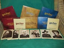 Harry Potter Character Cards & DVDs: Creating the World w/Cards & DVD