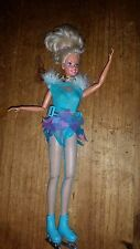 BARBIE DOLL JAPAN OLYMPIC SKATER 1997 WINTER SPORTS SKI SUPER STAR VINTAGE USED
