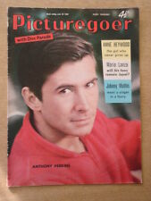 PICTUREGOER 1959 JUNE 20 ANTHONY PERKINS ANNE HEYWOOD MARIO LANZA JOHNNY MATHIS