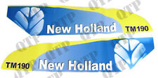 42010 Ford New Holland Decal New Holland TM190 Set Late Type White - PACK OF 1