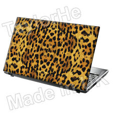 SKIN laptop COVER NOTEBOOK Adesivo Decalcomania Stampa Leopardata