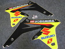 Suzuki RMZ450 2008-2016 One Industries Yoshimura radiator shroud graphics RM2744