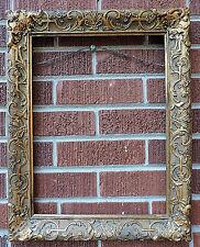 Antique Vintage BARBIZON GOLD Gilt COMPO Wood Picture Frame 12 x 16 c1930s