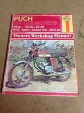 Puch Sports Mopeds Haynes Workshop Manual