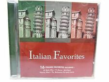 CD - ITALIAN FAVORITES 16 Tracks 1999 St Clair - O Solo Mio, Ti Amo, Siciliani