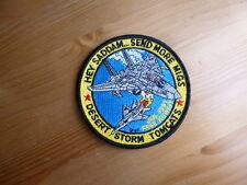 F-14 TOMCAT 1991 Patch VF Send MIGS Desert Storm NAVY CVN Nas Oceana Miramar CVW