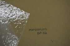 """DP-32 TEXTURED PATTERNED CLEAR ACRYLIC SHEET 1/8"""" X 15.875"""" X 15.875"""