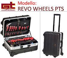 Valigia Cassetta Revo Wheels PTS Trolley - Gt line in ABS con carrello ruote