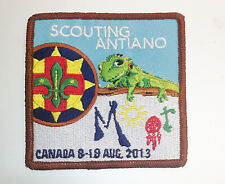 14th World Scout Moot Jamboree ANTIANO CONTINGENT BADGE Canada 2013
