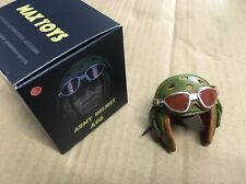 1/6 scale MAX TOYS WWII US Fury Tanker Helmet & Goggles A96 NEW No DID Brad Pitt