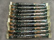 20 Cyalume ChemLight Military Grade Chemical Light Sticks, Orange, Ultra High