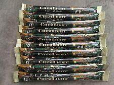 20 Cyalume ChemLight Military Grade Chemical Light Sticks, Orange, Ultra High