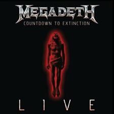 Megadeth - COUNTDOWN TO EXTINCTION - LIVE   -  CD NEUWARE