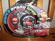 DISNEY CARS WATCH AND ALARM CLOCK IN TIN CASE (NEW)