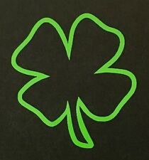 4 LEAF CLOVER DECAL STICKER LUCKY IRISH CAR FORD DODGE CHEVY VW JDM HONDA TOYOTA