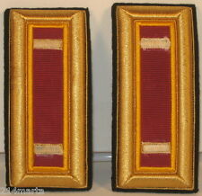 US Army 2nd LT Lieutenant Ordnance Corps Male Shoulder Straps for Dress Blues