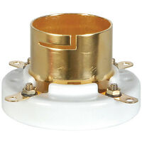 2pcs / pair Gold Plated Tube Sockets for 845  211, 805 western electric VT4C