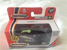 Matchbox New Toy Model Car #37 Robot Truck Black with Tampo Glow In Dark Boxed