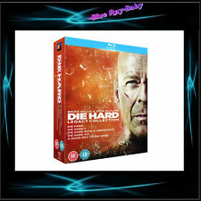DIE HARD: LEGACY COLLECTION FILMS 1, 2, 3, 4 & 5 *** BRAND NEW BLURAY BOXSET**