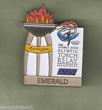 EMERALD   2000 OLYMPIC AMP TORCH RELAY PIN