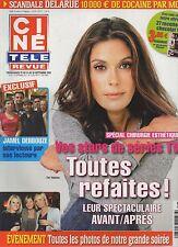 CINE REVUE (belge) 2010 N°38 jamel debbouze teri hatcher jean-paul belmondo
