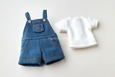Neo Blythe, Licca Doll Outfits Clothes Shorts Jeans Jumper And White T-Shirt