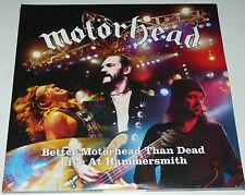 Motorhead Better Motorhead Than Dead LP 4 X Vinyl Collectors Set Live 2005 - New