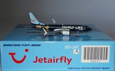 JC Wings XX4681 Boeing 737-8K5(WL) Jetairfly OO-JAF in 1:400 scale