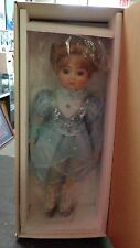 GORHAM DOLL- LINDA THE ICE PRINCESS #8845 - TAGS - MUSIC PLAYS SKATERS WALTZ-NIB