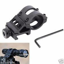 "1"" Offset Ring 45° Degree Side Picatinny Laser/Flashlight/Gun/Scope Mount Holder"