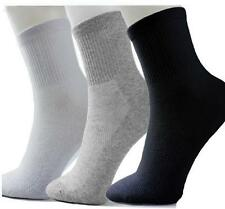 Summer Men's Socks Winter Thermal Casual Soft Cotton Sport Socks One Pair Grey