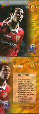 FUTERA 1998 MANCHESTER UNITED RYAN GIGGS 6 OF THE BEST CARD NUMBER 64