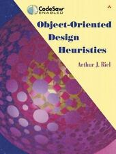 Object-Oriented Design Heuristics by Riel, Arthur J.