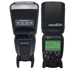 Shanny SN910EX-RF 2.4G Wireless Radio Flash Speedlite GN60 for Nikon SB910 SB900