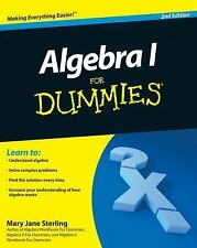Algebra I For Dummies, Mary Jane Sterling, Good Book