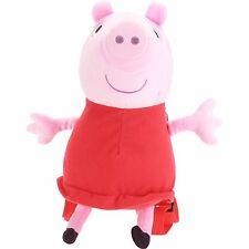 Peppa Pig Plush Backpack Toddler Bag + Peppa Reusable Tumbler New