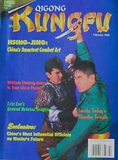 2/96 QIGONG WUSHU KUNG FU WILLIAM CHEUNG PETER CHEMA KARATE MARTIAL ARTS