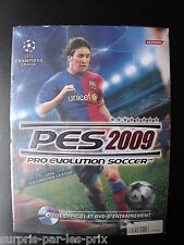 GUIDE STRATEGIQUE officiel PES 2009 NEUF SOUS BLISTER + DVD - PS3 - XBOX360 - PC