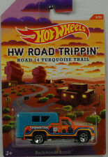 HW Road Trippin 14 Turquoise Trail Backwoods Bomb 1:64 Hot Wheels USA CBJ03