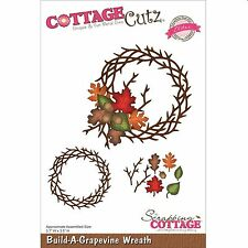 COTTAGE CUTZ CHRISTMAS BUILD A GRAPEVINE WREATH CUTTING DIE - NEW UNIVERSAL FIT